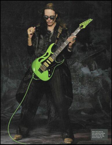 Steve Vai Signature Ibanez PIA Paradise in Art green guitar pin-up photo #20