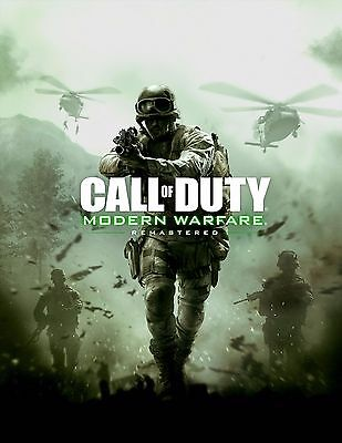 Call Of Duty Modern Warfare Remastered New Hot Poster Sizes 13X20  24X36  32X48
