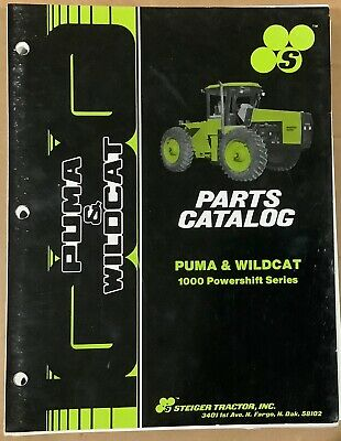 Steiger Parts Catalog Puma And Wildcat 37-157r1 1000 Powershift Original 1987