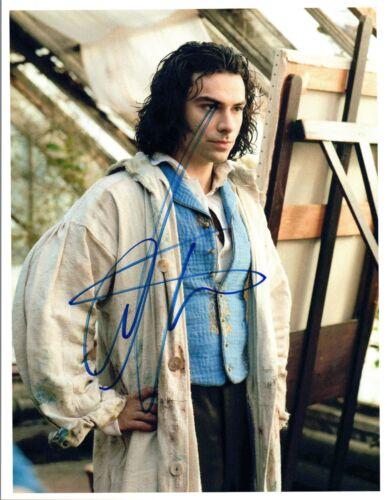 Aidan Turner Signed Autographed 8x10 Photo Poldark The Hobbit COA VD