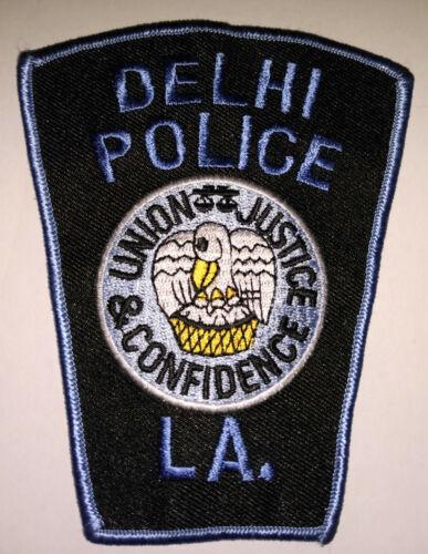 Delhi Louisiana Police Patch // FREE US SHIPPING!