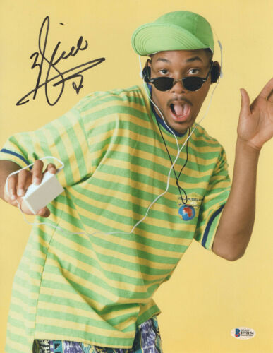 WILL SMITH SIGNED 'FRESH PRINCE OF BEL-AIR' 11X14 PHOTO AUTHENTIC AUTO BECKETT 2