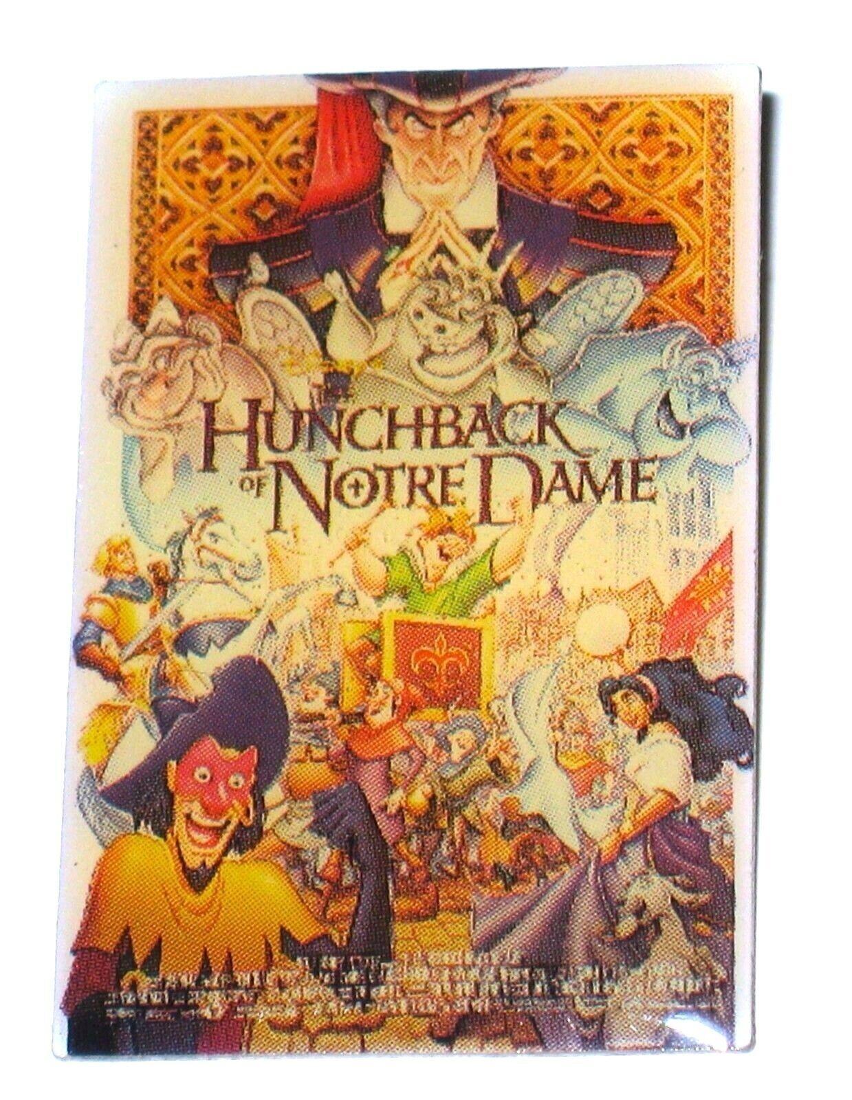 LE Disney PIN Original Movie Poster Hunchback Notre Dame Cat