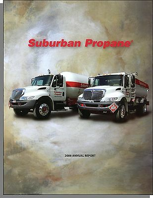Suburban Propane 2008 Annual Report  10 K    Very Good Condition