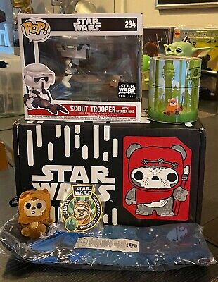 Funko Star Wars Smugglers Bounty Endor Box Scout Trooper #234 NEW