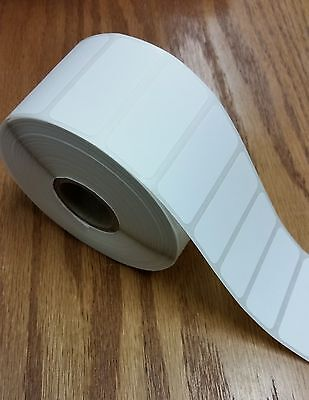 Direct Thermal 1.75x0.75 Paper Barcode Labels For Zebra 28242844 - 6 Rolls