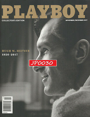 Playboy November   December 2017  Hugh Hefner 1926 2017  New Factory Sealed