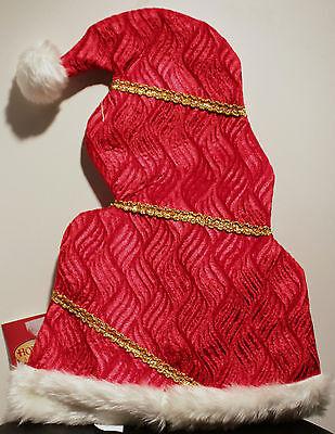 Jolly Santa Hut Erwachsene Weihnachten Happy Holidays Elfen - Jolly Santa Kostüme