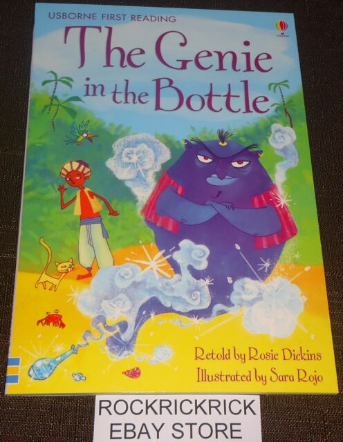 MY FIRST READING LIBRARY BOOK - THE GENIE IN THE BOTTLE (BRAND NEW)