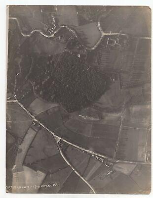 France Or Belgium - WW1 1918 Aerial Photo