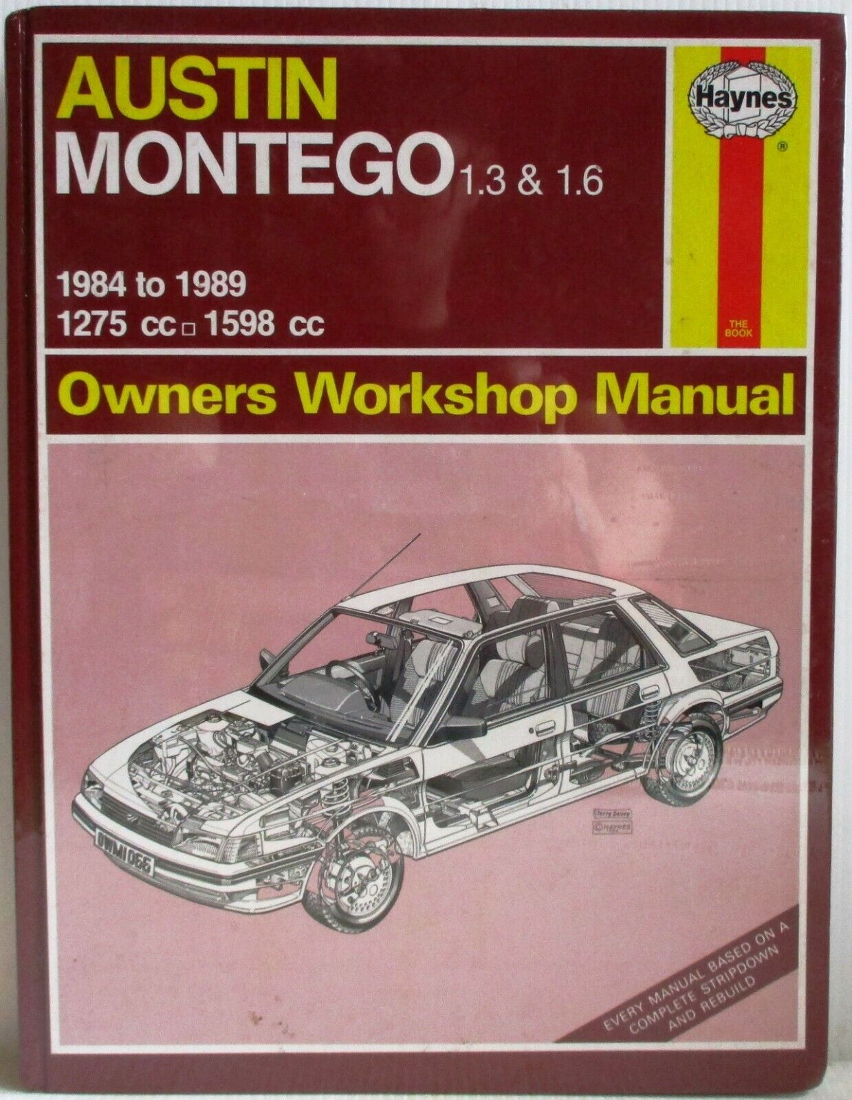 Used Austin Montego 1.3 /& 1.6-1984 to 1989 Haynes Owners Workshop Manual