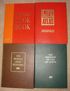 Vintage 4 Volume Set From The Editors Of Life