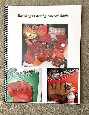 Just Released Rawlings Catalog Source Book, A Detailed Look at Rawlings Gloves