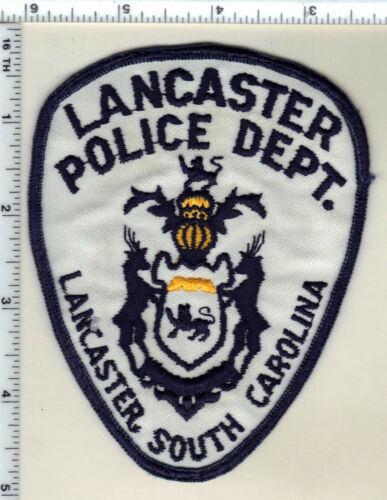 Lancaster Police (South Carolina) Uniform Take-Off Shoulder Patch Early 1980