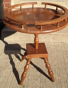 Maple side table  / plant stand