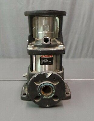 Grundfus Cr3 Valve Flanged Water Pump Centrifical 1hp Multistage 96446918