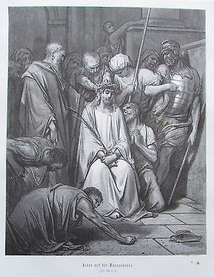 Jesus mit der Dornenkrone von Gustave Dore - - Krone Von Dornen