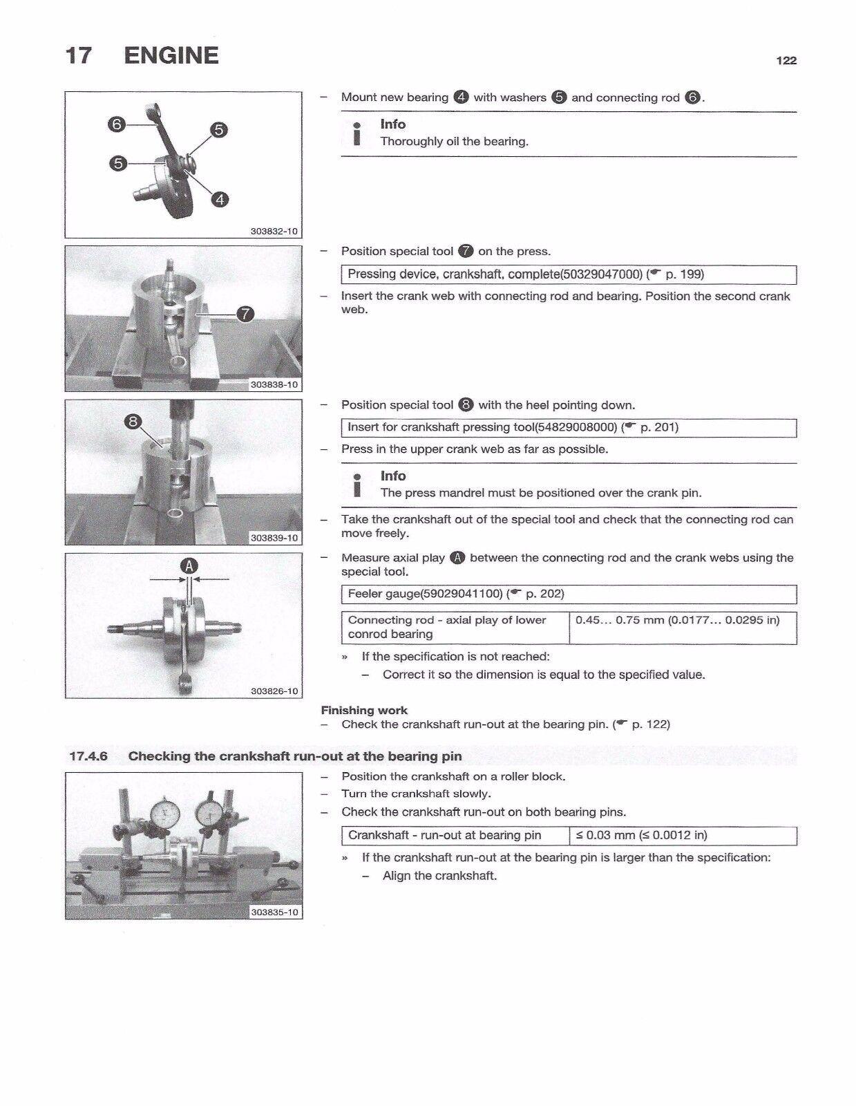 6 of 10 Husqvarna workshop service manual 2016 TC 125