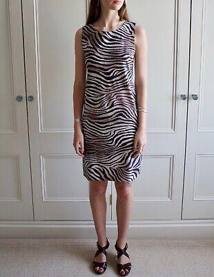 Irie Wash Zebra Print Dress Size M (UK 10/12), RRP £359