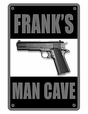 Personalized Man Cave   Garage Sign Printed Your Name Custom Aluminum Signs 19 2