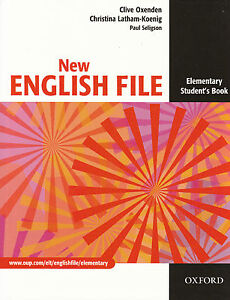 Oxford NEW ENGLISH FILE Elementary Student's book @NEW@