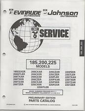1994 OMC EVINRUDE JOHNSON OUTBOARD 185, 200, 225 MODELS