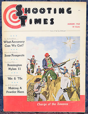 Magazine SHOOTING TIMES, August 1962 ! REMINGTON Nylon 11 RIFLE ! FREE SHIPPING
