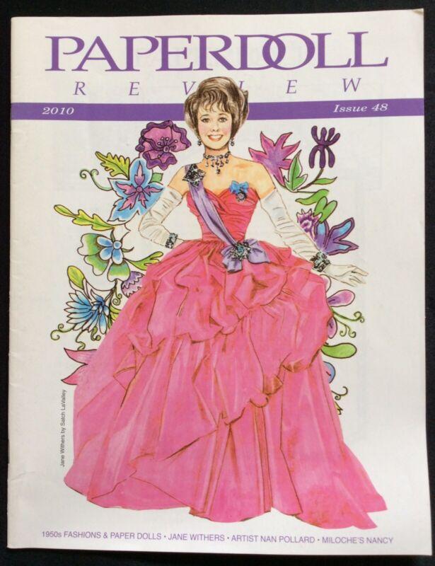 Paper Doll Review Magazine, 2010, #48, Model Dovima Paperdoll
