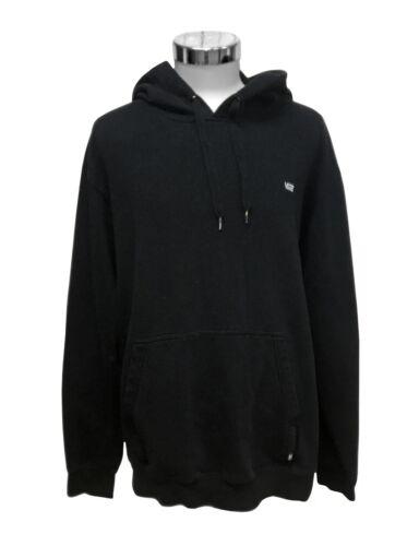 Vans Off The Wall Skateboarding Men's XL Black Pullover Hoodie Sweatshirt Vguc