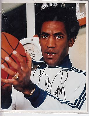 "Bill Cosby Hand Signed Autograph On A 10"" x 8"" COLOUR PHOTOGRAPH"