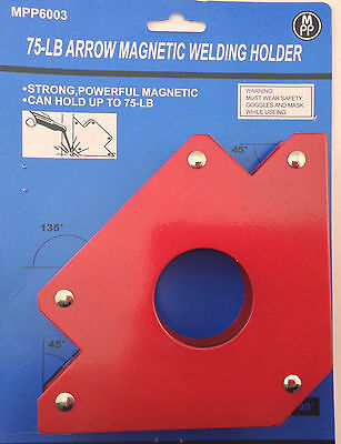 5 Arrow Magnetic Welding Holder 75lb Weight Limit