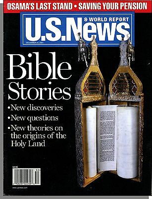 Us News   World Report   2001  December 24   Bible Stories  New Discoveries