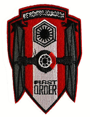 Star Wars - First Order - TIE-Fighter - Logo Uniform Patch Kostüm Aufnäher - neu