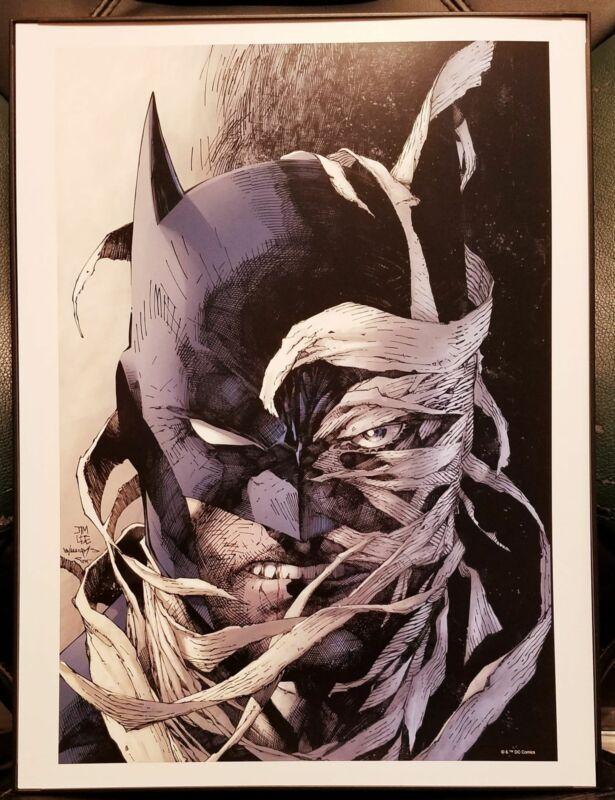 Batman Hush 12x16 Art Print by Jim Lee, New DC Comics cardstock