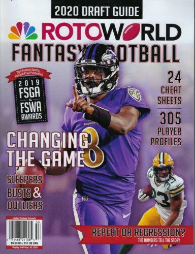 RotoWorld 2020 Draft Guide Fantasy Football