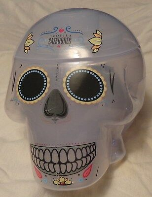 Cazadores Tequila - Skull Drink Cup - 3 Part Drink Shaker - Plastic - Cool - NEW