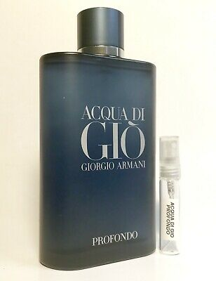Armani Acqua Di Gio Profondo 5ml SAMPLE Code Prive Emporio