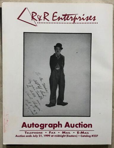 RR AUCTION CATALOG HISTORICAL, ART, NASA SPACE, SPORTS, ENTERTAINMENT