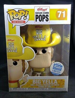 Big Yella Funko Pop Shop Exclusive Ad Icons Kelloggs Sugar Corn Pops
