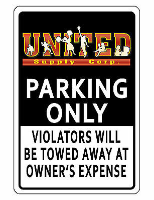Personalized Business Logo Parking Sign Durable Aluminum No Rust Quality Bk454