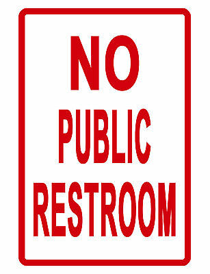 Restroom Sign Owner 39 S Guide To Business And Industrial Equipment