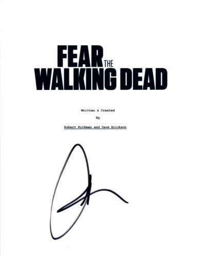 Kim Dickens Signed Autographed FEAR THE WALKING DEAD Pilot Episode Script COA