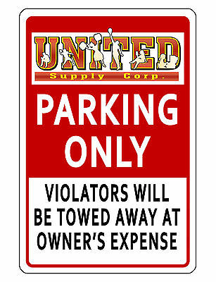 Personalized Business Logo Parking Sign Quality Aluminum No Rust Hiquality R455