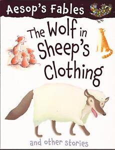 ÁESOP'S FABLES - THE WOLF IN SHEEP'S CLOTHING other stories Childrens Story Book
