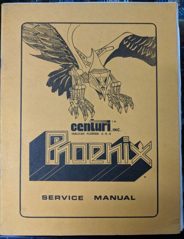 Phoenix - Centauri - Manual - Schematics - Instructions - Book - Original Used