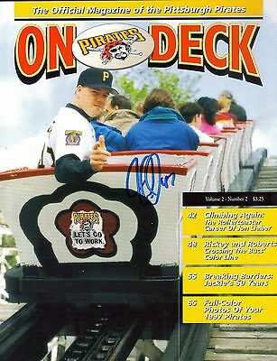 Pittsburgh Pirates JON LIEBER autograph signed On Deck Program Volume 2 Number 2