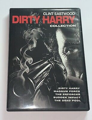 5 FILM COLLECTION: DIRTY HARRY USED - VERY GOOD DVD-Very clean Disc Mint