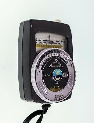 Gossen Luna-Pro CdS Light Meter with Case ()