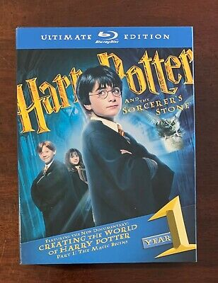 Harry Potter and the Sorcerer's Stone - Ultimate Blu-Ray Edition - Very Nice