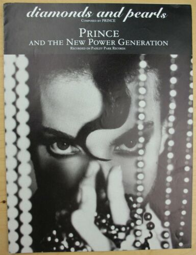 1991 RARE Prince and the New Power Generation - Diamonds and Pearls Sheet Music